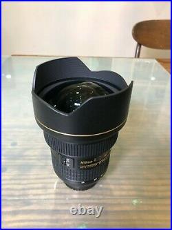 Nikon 14-24mm f/2.8G ED-IF AF-S NIKKOR Lens