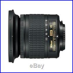 Nikon AF-P DX NIKKOR 10-20mm f/4.5-5.6G IF VR Zoom Lens Refurbished By Nikon