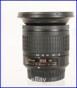 Nikon AF-P DX NIKKOR 10-20mm f/4.5-5.6G VR Lens (20067) New