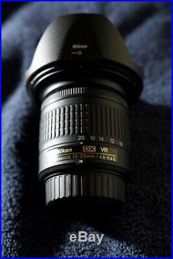 Nikon AF-P DX NIKKOR 10-20mm f/4.5-5.6G VR Lens (20067) with 72mm NC Filter