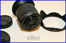 Nikon AF-P DX NIKKOR 10-20mm f/4.5-5.6G VR Lens Free shipping! Barely used