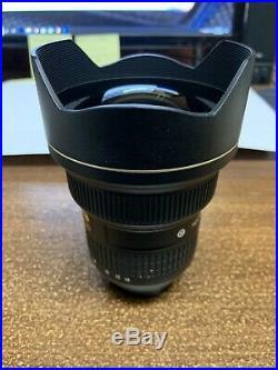 Nikon AF-S NIKKOR 14-24 mm f/2.8G ED Lens Black- 2163 With Nano Crystal Coating
