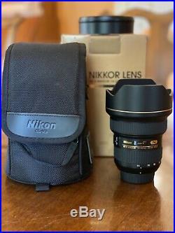 Nikon AF-S NIKKOR 14-24 mm f/2.8G ED Lens MINT-Astrophotography & Wide Angle