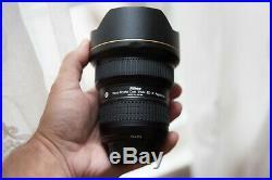 Nikon AF-S NIKKOR 14-24 mm f/2.8G ED Lens Wide Angle, Mint Condition