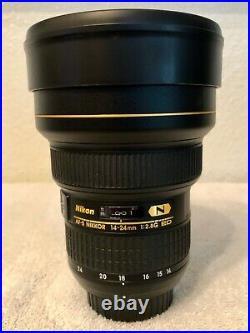 Nikon AF-S NIKKOR 14-24mm F/2.8G ED Ultra Wide Angle Lens