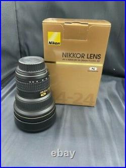 Nikon AF-S NIKKOR 14-24mm F/2.8G Ultra Wide Angle Lens Excellent Condition