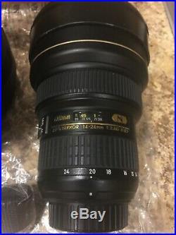 Nikon AF-S NIKKOR 14-24mm F/2.8G Ultra Wide Angle Lens US SERIAL#
