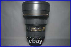 Nikon AF-S NIKKOR 14-24mm F/2.8G Ultra Wide Angle Lens Used