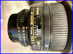 Nikon AF-S NIKKOR 14mm f/2.8 ED Lens Black