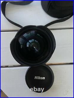 Nikon AF-S Nikkor 14-24mm f / 2.8G ED Camera Lens