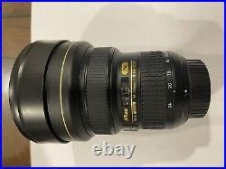 Nikon AF-S Nikkor 14-24mm f / 2.8G ED Camera Lens MINT