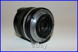 Nikon Ai-S Fisheye Nikkor 16mm F2.8 Ultra Wide Angle MF Lens