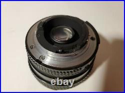 Nikon NIKKOR 20mm f/2.8 D CRC AF SIC Lens AF-D Ultra wide fast fixed prime