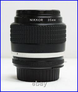 Nikon NIKKOR 35mm f/1.4 Ai-S Lens