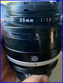 Nikon NIKKOR 35mm f/1.4 Lens