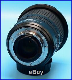Nikon NIKKOR AF-S DX 10-24mm f/3.5-4.5G ED Lens Exc++++in case WithHood