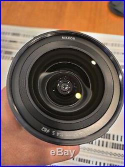 Nikon NIKKOR Z 14-30mm f/4 S Camera Lens Black
