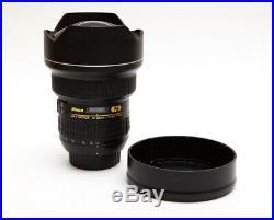 Nikon Nikkor 14-24mm 14-24 f/2.8 f2.8 AF-S G ED-IF Wide Angle Lens (USA Model)