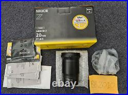 Nikon Nikkor 20mm 1.8 Z Lens Pristine FAST DISPATCH or CASH COLLECT LONDON