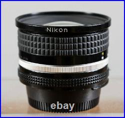 Nikon Nikkor 20mm F2.8 Ai-s Ultra Wide Angle Lens for 35mm Film SLR Camera Teste