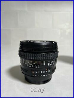 Nikon Nikkor AF 20mm f2.8d