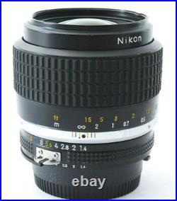 Nikon Nikkor Ai-s 35mm F/1.4 Lens Excellent- dent No. 492888