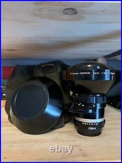 Nikon Nikkor Non AI 8mm f2.8 Auto Fisheye MF Lens