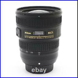 Nikon Super-Wide-Angle Zoom Lens AF-S NIKKOR 18-35mm f / 3.5-4.5G ED Full Size N