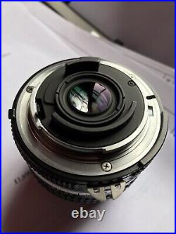 Nikon nikkor 20mm f3.5 ai manual focus ultra wideangle recent refurb by fixation