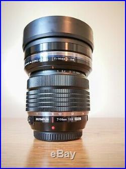 Olympus M. Zuiko 7-14mm F/2.8 ED Pro Lens