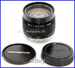 Olympus OM-System ZUIKO Auto-W 12 f=24mm / 24mm F2 FAST ULTRA-Wide-Angle Lens