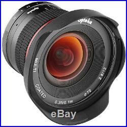 Opteka 12mm f/2.8 Super Wide-Angle Lens for Sony Alpha E-Mount Digital Cameras