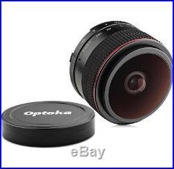 Opteka 6.5mm f/2 Fisheye Lens for Olympus / Panasonic Micro 4/3 Digital Cameras