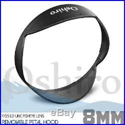 Oshiro 8mm Fisheye Lens for Canon EF EOS 80D 77D 7D 6D 5D T7i T7s T7 T6s T6i T6