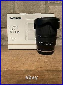 PRISTINE CONDITION Tamron 17-28mm F/2.8 Di III RXD Lens for Sony E