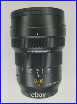 Panasonic LEICA DG VARIO-ELMARIT 8-18mm F/2.8-4.0 ASPH. M43 Lumix