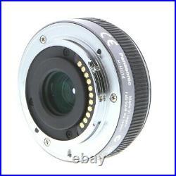 Panasonic Lumix G 14mm f/2.5 ASPH Lens (Silver) H-H014AE-S White Box