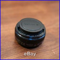 Panasonic Lumix G 20mm f/1.7 II Aspherical AF G Lens (Black) Ex++