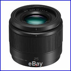 Panasonic Lumix G 25mm F/1.7 Asph Micro 4/3 Lens NEW