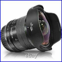 Profesional ultra gran angular lente ojo de pez para Canon camaras EOS Rebel