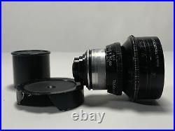 RARE COOKE KINETAL 12.5mm F/1.8 T2 Taylor Hobson Cine wide film Lens England Vtg