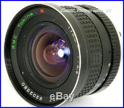 RMC Tokina 17mm 13.5 ULTRA-WIDE-Angle Lens for Pentax-K Film & DIGITAL SLR