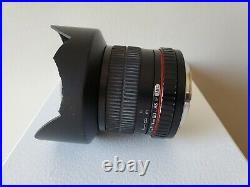 ROKINON 14mm f2.8 ED AS IF UMC LENS Canon EF Mount