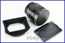 Rare Leica Elmarit R 19mm F/2.8 II Rom Manual Focus Prime Germany Lens