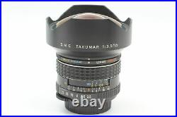 Rare Near MINT+3 SMC Takumar 15mm f/3.5 Ultra Wide Lens Pentax M42 From JAPAN
