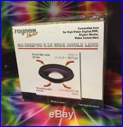 Raynox MX-3062 PRO 0.3x SEMI-FISHEYE ULTRA WIDE Lens 43mm 52mm 55mm 58mm 67mm