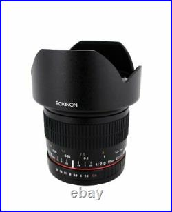 Rokinon 10mm F2.8 ED AS NCS CS Ultra Wide Angle Lens Canon EF-S for Canon DSLR