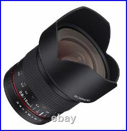 Rokinon 10mm F2.8 Ultra Wide Angle Lens (Canon EF)