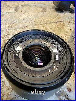 Rokinon 12mm F2.0 High Speedwide Angle Lens for Sony Black