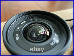 Rokinon 12mm F2.0 Ultra Wide Angle Lens for Fuji X Mount
